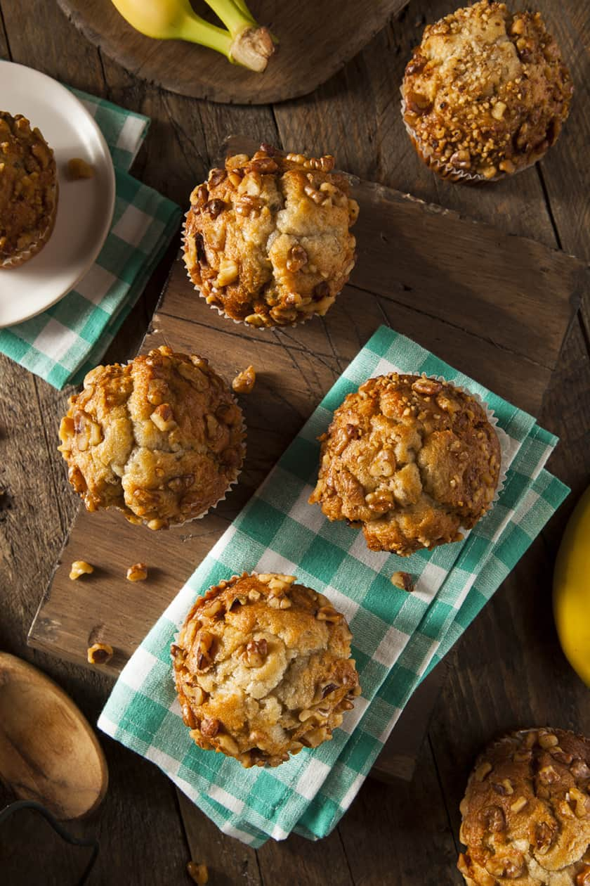Banana Ginger Muffins