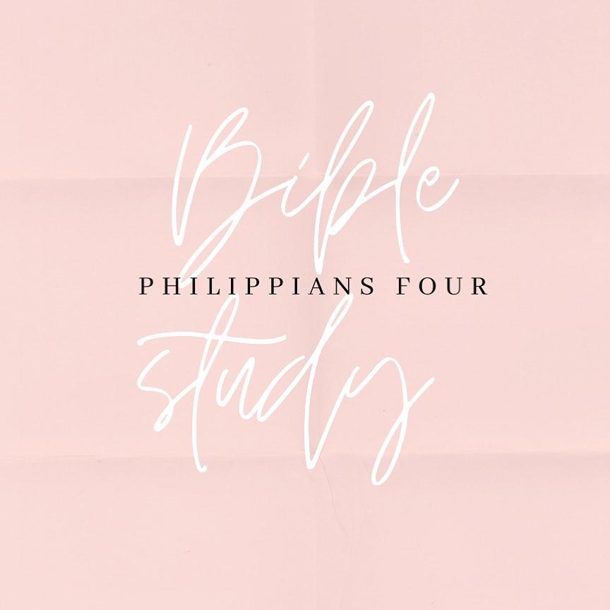 Bible study philippians 4 image